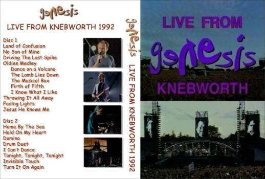 Genesis - Live in Knebworth - 1992