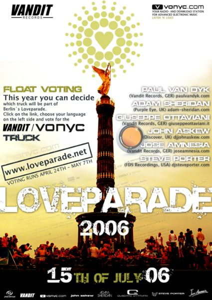LOVEPARADE 2006-Mainstage DJ Sets