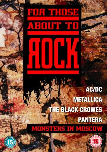 AC-DC, Pantera, The Black Crowes Metallica - Monsters in Moscow, Russia, 1991