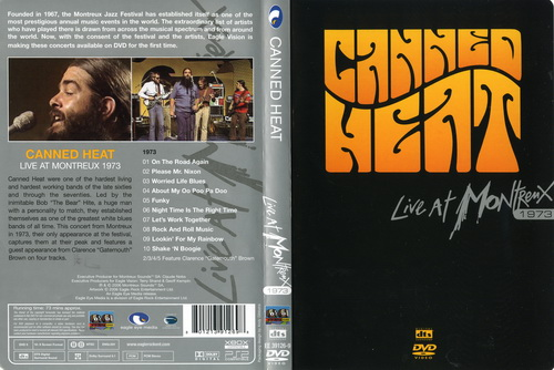 Canned Heat - Live at Montreux, 1973