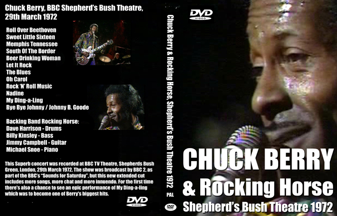 Chuck Berry Shepherds Bush BBC TV Theatre 1972
