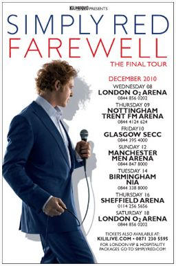 Simply Red - Farewell Tour, Milan, 2010