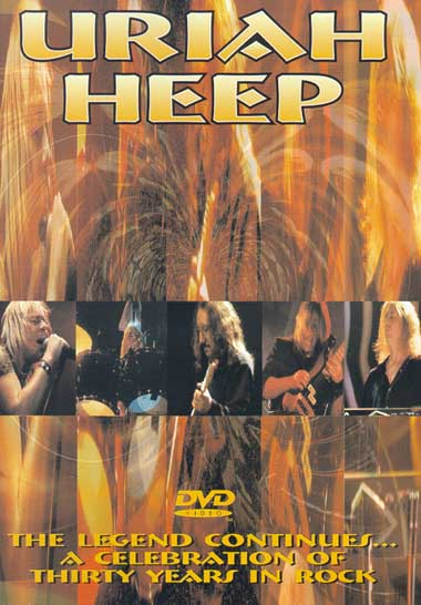 Uriah Heep - The Legend Continues, 30 Years in Rock, 2000